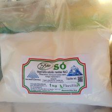 Tiszta só NaCl vegytiszta étkezési biosó - 1kg - magunk mérjük ki