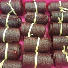 Aszalt Piros Ribizli Almával - mézzel édesítve - 50g - papírzacskóban