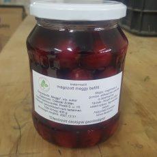 Bio magozott meggybefőtt - 720 ml