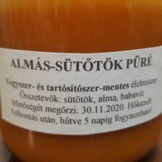 Alma-sütőtök püré babavízzel 220 ml