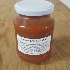 Mirabolán Ketchup Csípős - 370 ml