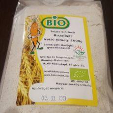 Bio teljes kiörlésű Rozsliszt 1 kg