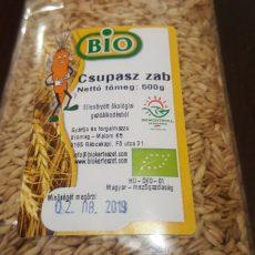 Bio Csupasz Zab 0,5 kg - min. megőrzi: 2020,07,07